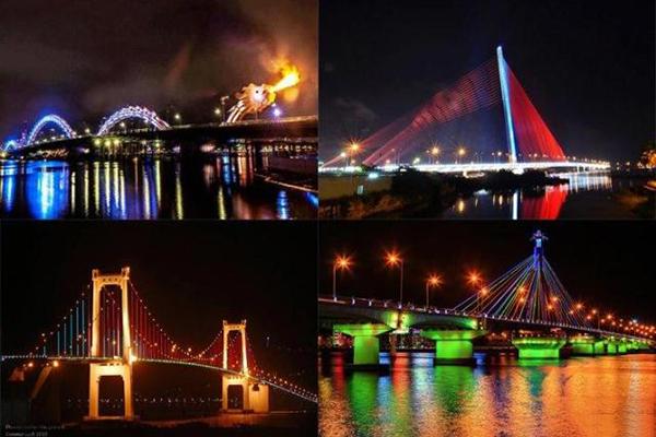 Những cây cầu độc đáo tại Đà Nẵng