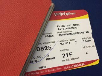 Đổi vé máy bay Vietjet