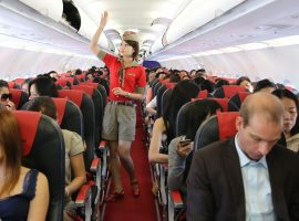 Sơ đồ ghế ngồi trên máy bay Vietjet được bố trí như thế nào?